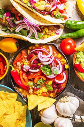 Tacos & nachos